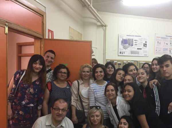 İspanya Öğretmen ve Öğrenciler