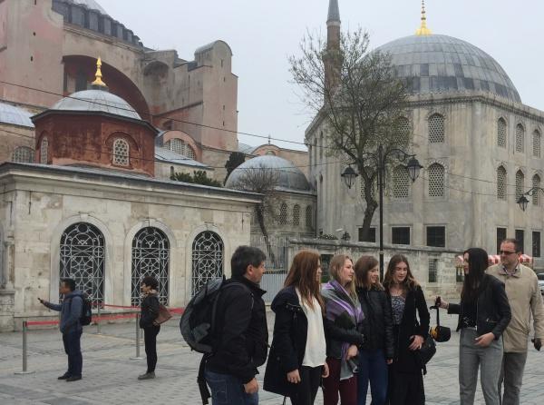 Misafirlerimizin İstanbul Gezisi